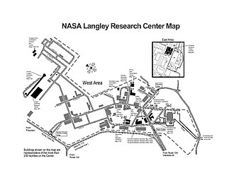 Langley Research Center - Image: NASA Langley Research Center Map