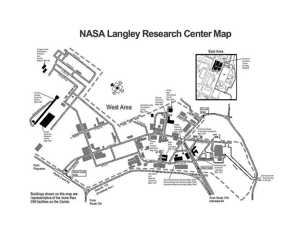 nasa space center map - photo #16