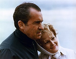 Pat Nixon - With her husband in 1971