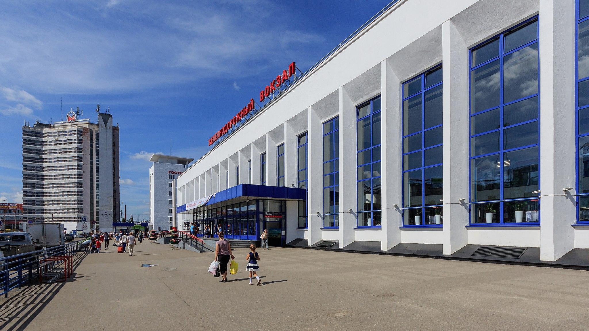 NN Moskovsky Railway Station 08-2016
