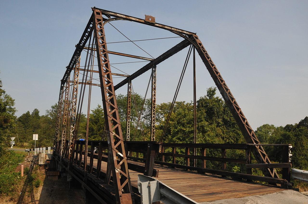 File Nokesville Truss Bridge Prince William County Jpg