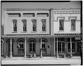 NORTH FRONT AND PORTION OF ADJACENT BUILDING TO WEST - Oliver-French Company, Main Street, Plains, Sumter County, GA HABS GA,131-PLAIN,10-1.tif