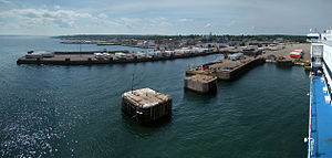 North Sydney, Nova Scotia - Panorama of the harbour