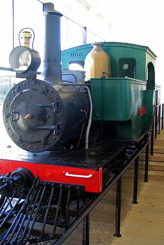 Port Chalmers Branch - Josephine at the Otago Settlers Museum