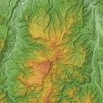 Naeba Volcano Relief Map, SRTM-1.jpg