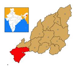 Nagaland Peren district map.png