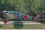 Nakajima Ki-43-II Hayabusa in the Great Patriotic War Museum 5-jun-2014 Side.jpg