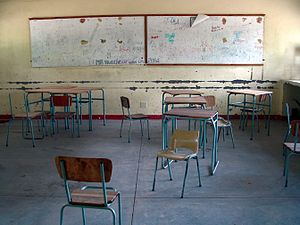 Education in Namibia - Classroom in Namibia