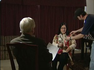 Nana Mouskouri - Nana Mouskouri, waiting for an interview in 2006