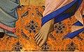 Nardo di cione, tre santi, 1365 ca., da s.g. della calza a firenze, 02 piede.jpg