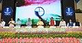 Narendra Modi launching the logo of the Skill India Mission, on the occasion of the World Youth Skills Day, in New Delhi. The Union Ministers Shri Arun Jaitley, Shri Manohar Parrikar, Shri Suresh Prabhu, Shri Anant Geete.jpg