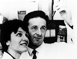 photo of Eva and George Klein