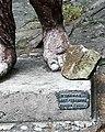 Neandertalczyk ZOO Chorzow sign.jpg