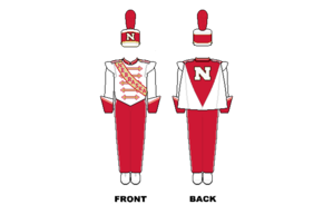 University of Nebraska Cornhusker Marching Band - Image: Nebraska Marching Band Uniform
