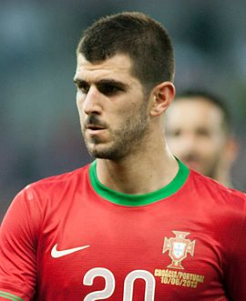 Nelson Oliveira - Croatia vs. Portugal, 10th June 2013 (crop).jpg