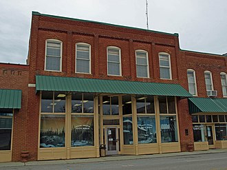 New Hope, Alabama - Butler's Store, which now serves as New Hope's City Hall, was listed on the National Register of Historic Places on August 31, 1992.