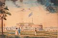 New York, Battery Park and Castle Garden 1827.jpg