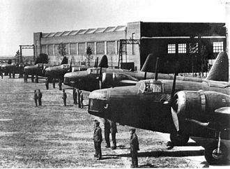 Royal New Zealand Air Force - Vickers Wellington bombers of the RNZAF in England, 1939.