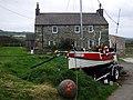 New life for an old boat, Llanwnda - geograph.org.uk - 1552349.jpg