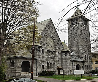 Hartwell and Richardson - Central Congregational Church (1895), Newton, Massachusetts.