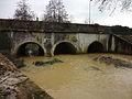 Nieuil-L'Espoir, pont de la RD 1 sur le Miosson.jpg