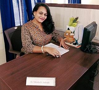 Nikisha Jariwala Indian computer scientist