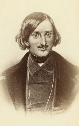 English: Nikolai Gogol.