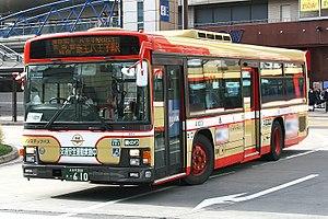 Isuzu Erga - Image: Nishi Tokyo Bus A1001