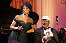 Description de l'image Nnenna Freelon, Clark Terry.jpg.