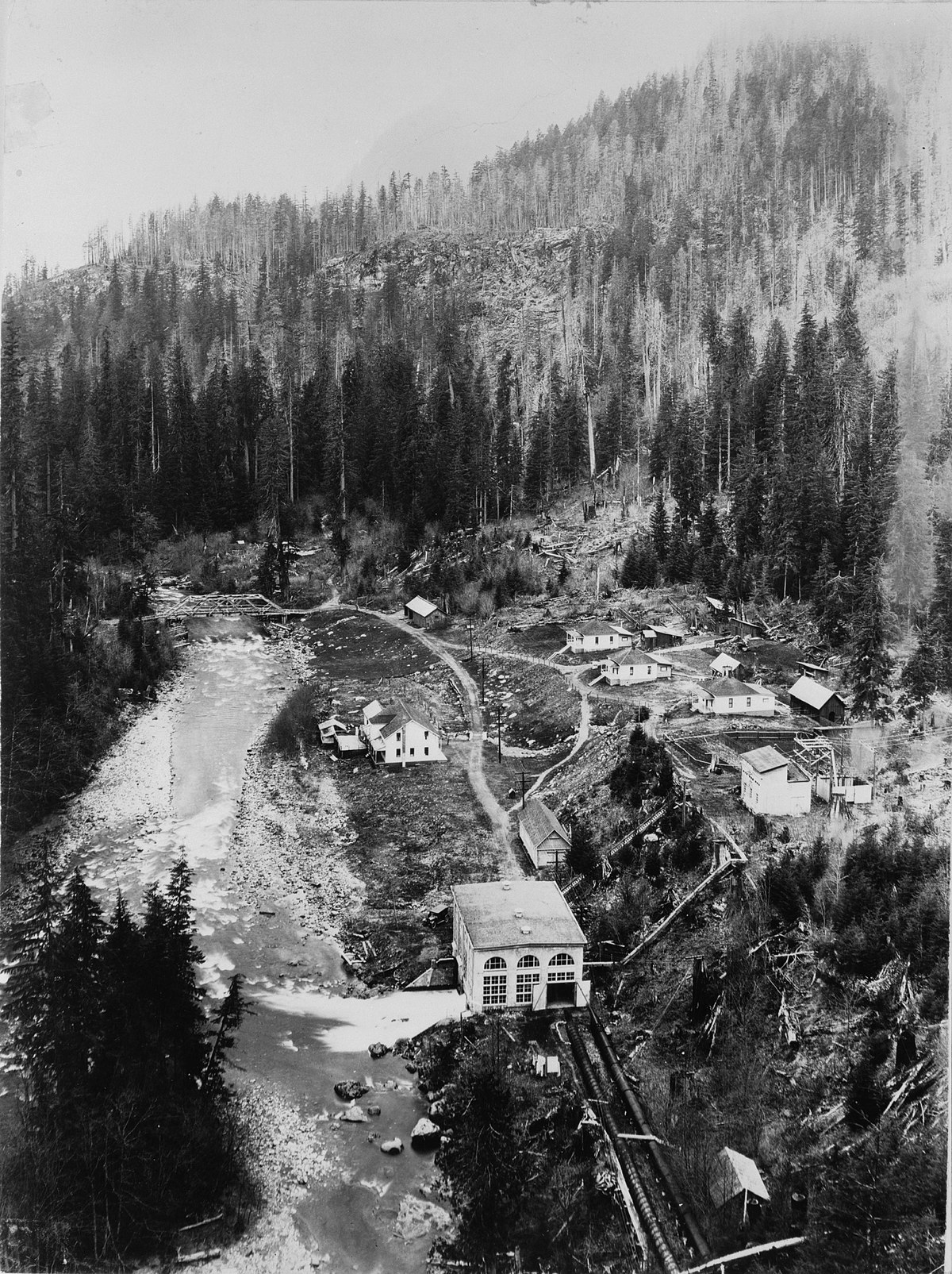 Nooksack Falls Hydroelectric Power Plant