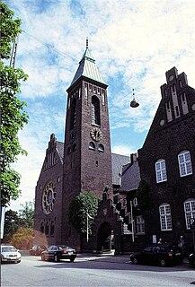 Swedish Gustafs Church Church in Copenhagen, Denmark