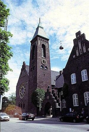 Gustaf Church, Copenhagen - Image: Nordenskirker Gustaf(01)