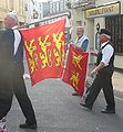 Norman flags on parade.jpg