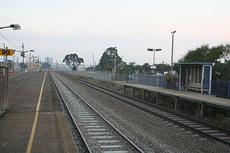 Norlane, Victoria - North Shore railway station, in Station Street, provides frequent rail services from Norlane to both Melbourne and Geelong.