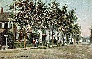 Newport, New Hampshire - Image: North Main Street, Newport, NH