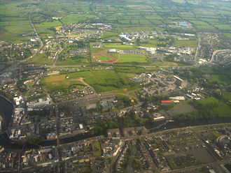 Sligo - An aerial view of Sligo