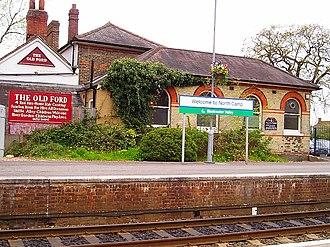 North Camp railway station - North Camp station