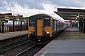 Northern Rail Class 150, 150224, Salford Central railway station (geograph 4500627).jpg