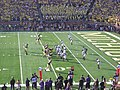 Northwestern vs. Michigan football 2012 12 (Michigan on offense).jpg