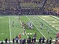Northwestern vs. Michigan football 2012 12 (Michigan on offense).jpg