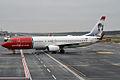 Norwegian (Knud Rasmussen livery), LN-NOY, Boeing 737-8JP (16455675372).jpg