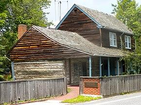 C a nothnagle log house wikipedia for Cabin getaways in nj