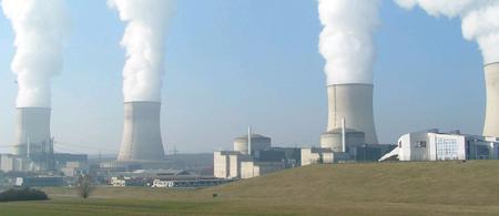 Fransa' daki Cattenom Nükleer Enerji Santrali