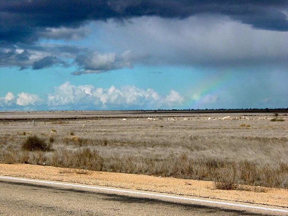 Nullarbor Plain Rainbow DSC04547