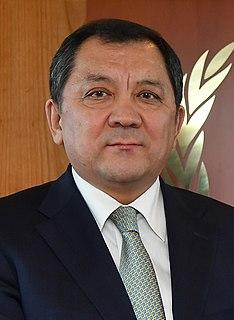 Nurlan Nogaev Kazakh politician