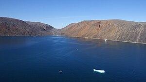 Nuussuaq - Protected inlet