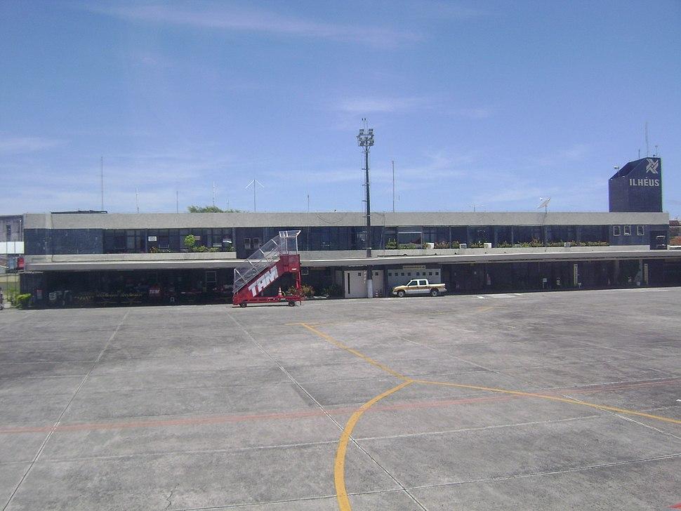 O Aeroporto de Ilhéus - Jorge Amado, Ilhéus, Bahia, Brasil