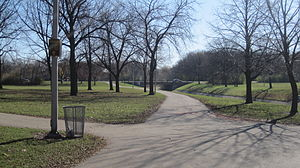 Oak Leaf Trail - Image: Oak leaf trail in mccarty park milwaukee
