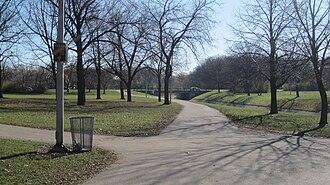 Oak Leaf Trail - Image: Oak leaf trail in mccarty park milwaukee