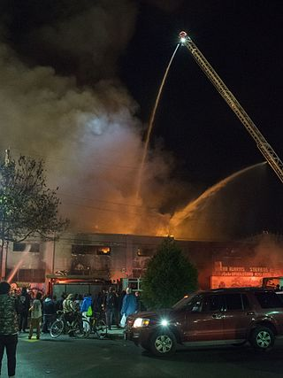 2016 Oakland warehouse fire